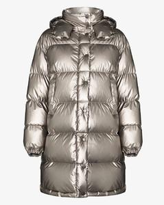 Gaou metallic puffer jacket