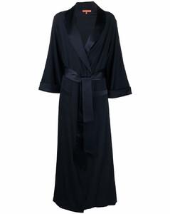 longline tie-waist coat