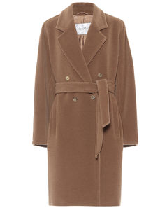 Baiocco camel-hair and wool coat