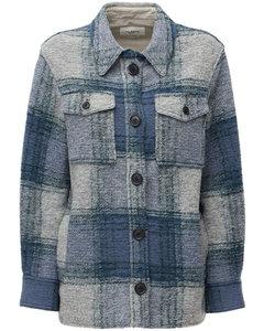 Gastoni Wool Blend Shirt Jacket