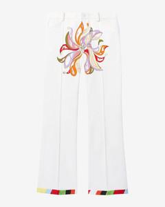 Wrap-Front Duvet Coat in White