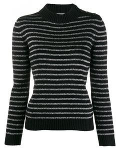Wool Blend Striped Top