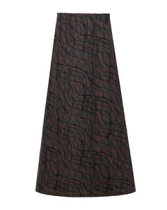 Rossella quilted nylon medium down jacket