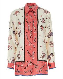 Long Printed Turtle Neck Satin Dress