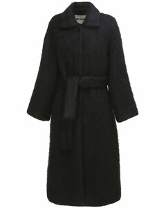 Belted Wool & Mohair Coat