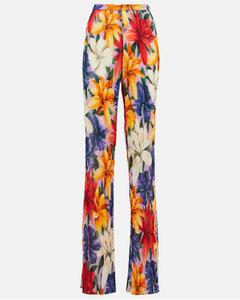 Magda縐紗褶裥中長半身裙
