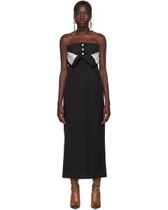黑色Dagila晚禮服連衣裙