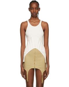 Crop Logo Cotton Denim Jacket