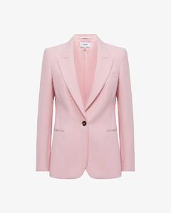Printed cotton poplin midi dress