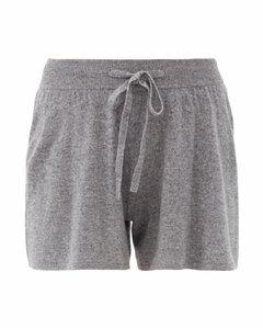 Gio drawstring-waist cashmere shorts