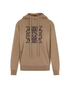 Woman Pleated Wool-twill Wide-leg Pants