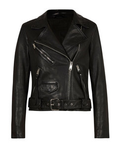 Leather Griffen Biker Jacket