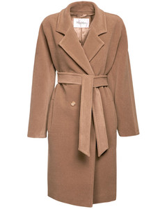 Baiocco Double Breast Camel & Wool Coat