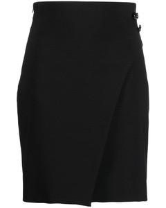 Checked Fur-Trim Coat