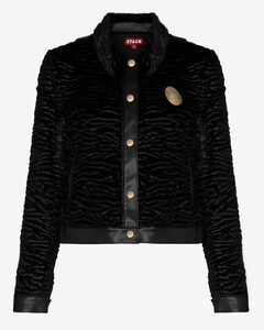 Buddha faux shearling jacket