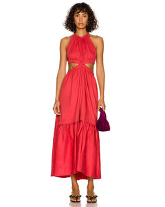 格紋彈性縮褶襯衫裙