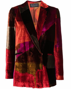 Down jacket with wide sleeves
