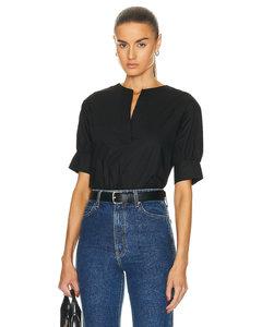 Rinala bow-embellished woven mini dress