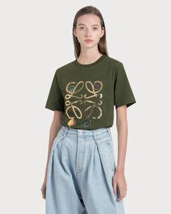 Anagram Brooch Print T-Shirt