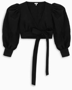 黑色徽標T恤式運動連衣裙