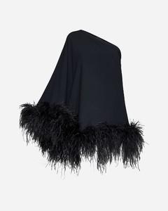Paisley-jacquard wool cape