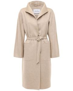 Lilia Cashmere Belted Coat