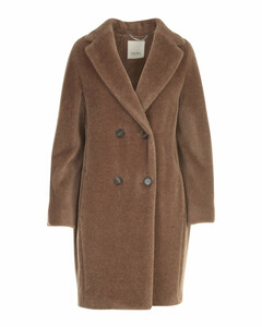 'S Max Mara Rosato Teddy Coat