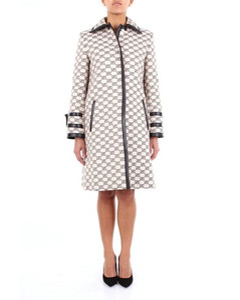 two-tone long coat