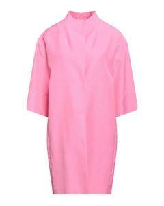 Turn-Up Hem Mini Denim Skirt