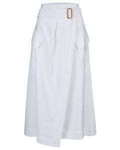 Utility Skirt in White