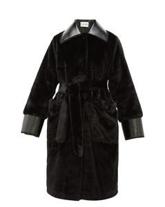 Pamella faux-fur coat