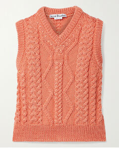 Cable-knit Tank