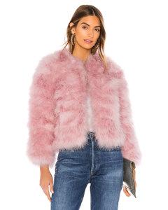 HARPER羽毛夹克