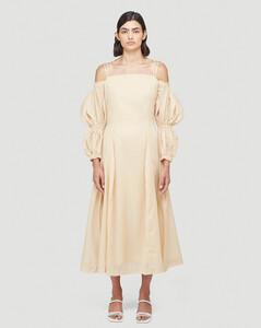 Lorna Dress in Beige
