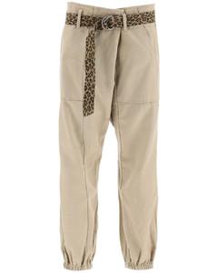 Trousers R13 for Women Khaki