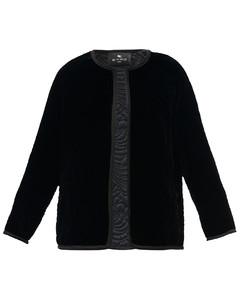 Brumby floral-quilted velvet jacket