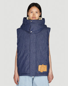 High-rise wool-blend flannel wide-leg trousers