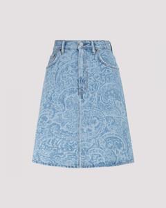 Turchia mohair blend skirt