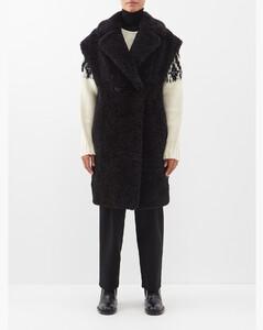 Satin Blazer in Purple
