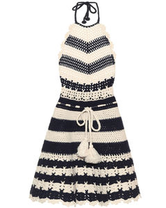 钩编羊毛连衣裙