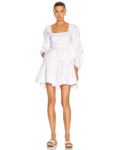 Isabella Dress in White