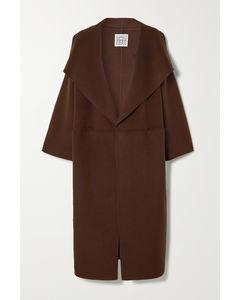 Annecy羊毛羊绒混纺外套