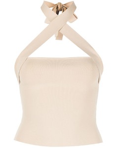 Escalada Ruffled Lace-trimmed Ribbed-jersey Turtleneck Sweater