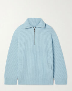 Bowee Ribbed Wool-blend Sweater