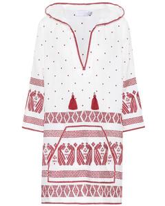 Exclusive to mytheresa.com–embroidered linen kaftan