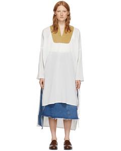 白色連衣裙