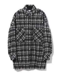 Artiga plaid overcoat