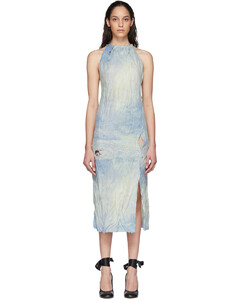 藍色Dressuila連衣裙
