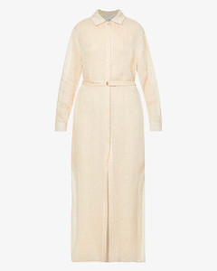Boucle Wool Wrap Coat