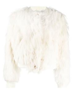 Rib Long Sleeve Pullover - Ivory